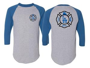 LA City Maltese Cross Baseball Jersey
