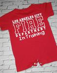 LAFD Baby Toddler In Training Uniform Logo Romper Size 18 Months