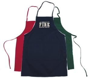 Embroidered Cooks Apron Los Angeles City Fire Department