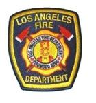 Official Navy LAFD Uniform Patch Los Angeles Fire Department