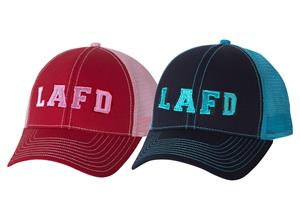 LAFD Embroidered Logo Trucker Cap